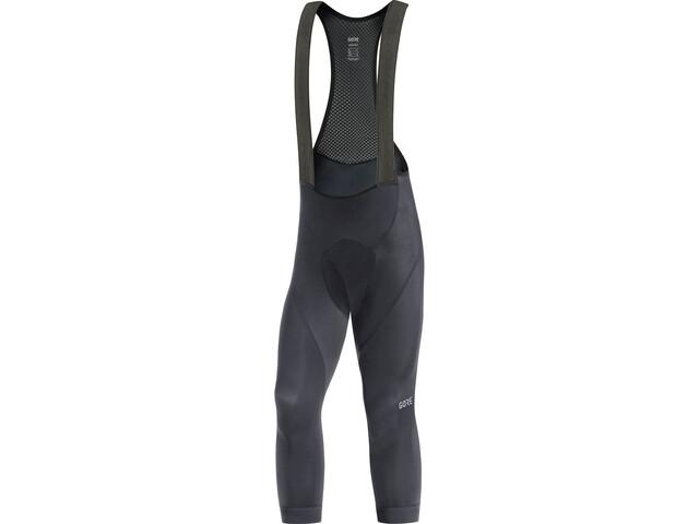 GORE WEAR C3+ 3/4 Bib Shorts Heren, black